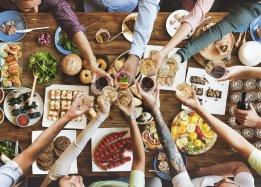 Szwacki table - rich Executive Chef's buffet on 12.05!