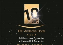 Golden 10! Juiblee New Year's Eve in IBB Andersia Hotel!